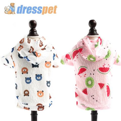 DressPet Lightweight Sun Protection Thin Coat