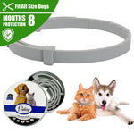 HATELI New Anti Flea, Ticks & Mosquitoes Outdoor Adjustable Collar - 8 Months Long-term Protection