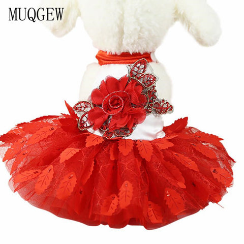 Big Rose Red Party & Wedding Dress