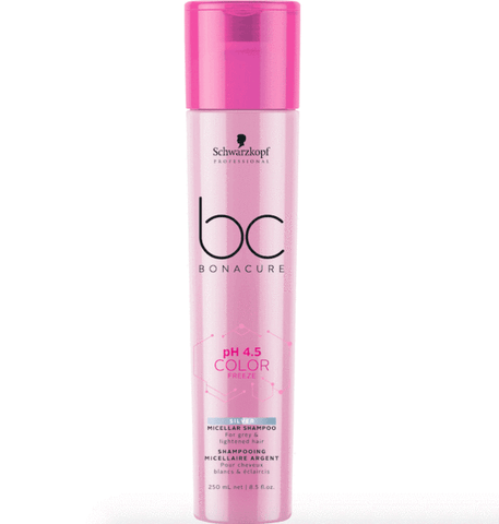 SCHWARZKOPF BC BONACURE PH 4.5 COLOR FREEZE SILVER SHAMPOO 250ML