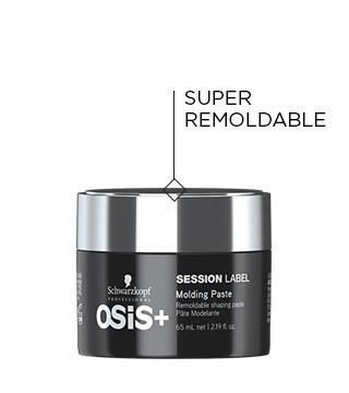 SCHWARZKOPF OSIS+ SESSION LABEL MOLDING PASTE 65ML