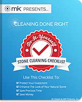 Do It Yourself Stone Cleaning Checklist