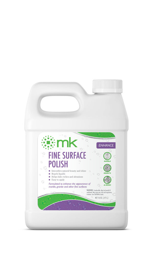 MK Fine Surface Polish | Tile and Countertop Polish | Protect Marble and Granite Surfaces from Water Marks and Food Stains