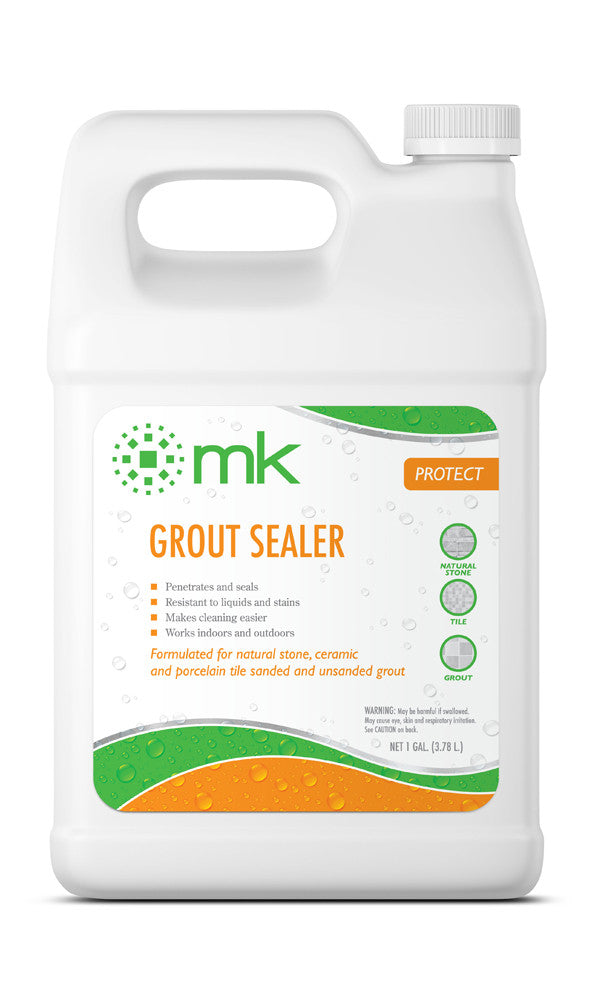 MK Grout Sealer | Sealer for Natural Stone, Ceramic, Porcelain Tile Sanded & Unsanded Grout
