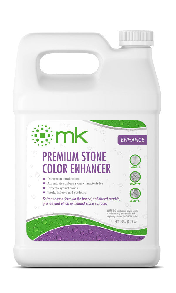MK Premium Stone Color Enhancer | Color Enhancer for Natural Stone | Enhance Color and Texture of Floors, Walls & Countertops