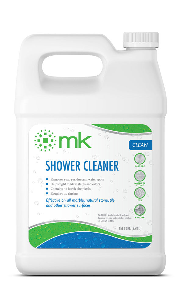 MK Shower Cleaner | Marble, Granite, Tile & Grout Cleaner | Daily Cleaner for Showers, Tubs, Bathrooms