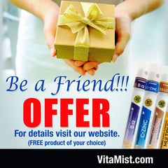 Give a Free VitaMist Product