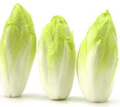 Three Endives Lined Up in a Row