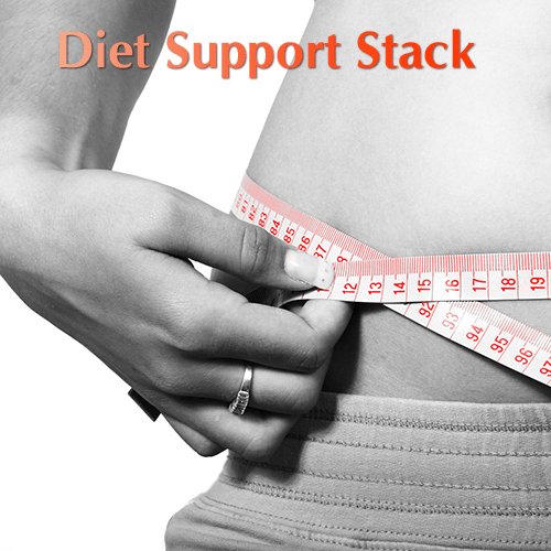 Diet Support Stack- Including Slender Mist, Omega, Multiple, B-Slim Boost, Minerals, and Life NrG Spray Supplements