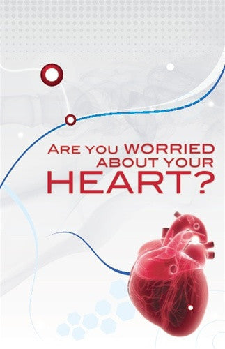"Cover image of the brochure titled, ""Are you worried about your heart?"""