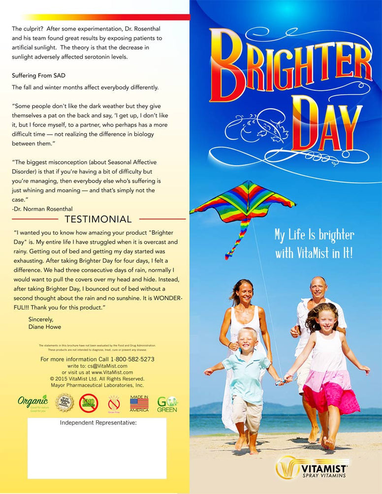 Brochure 25 Pack: Brighter Day