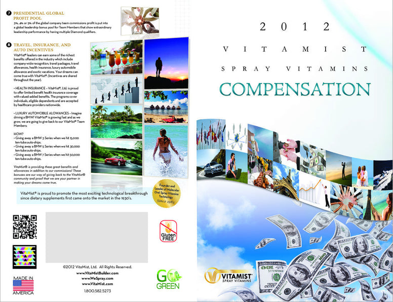 Brochure 25 Pack: Compensation Plan Small