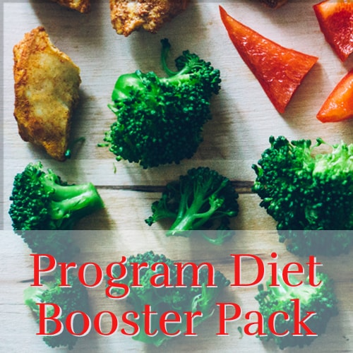 Program Diet Booster Pack- Includes B12, Multiple, Minerals, C+Zinc, and Omega