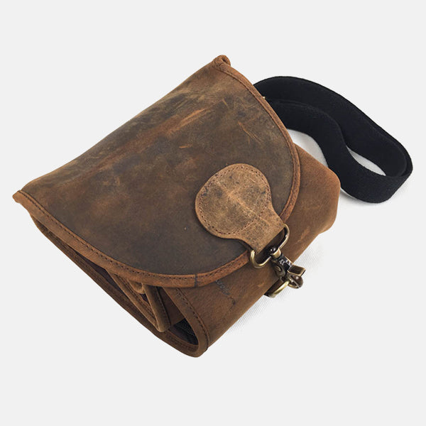 Leather Shotgun Slip Case Lightweight Roll-up