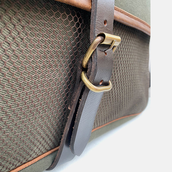 Canvas & Leather Game Hunting Fishing Bag