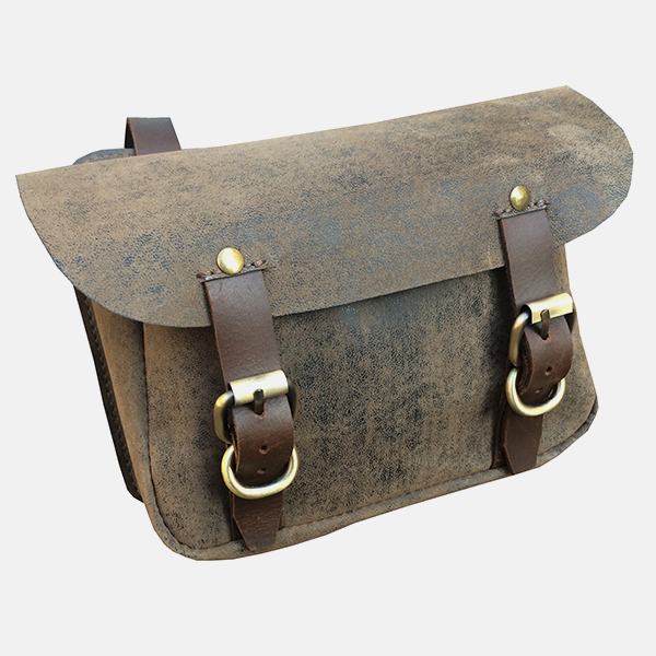 PU Leather Traditional Horse Riding Saddle Bag