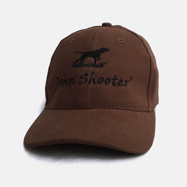 Brushed Brown Shooting Cap