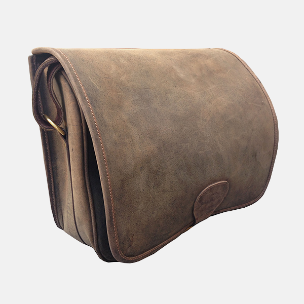Loaders Bag Distressed Leather 200 Cartridge Bag