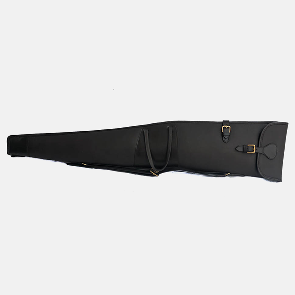 Leather Rifle Case Havana Brown