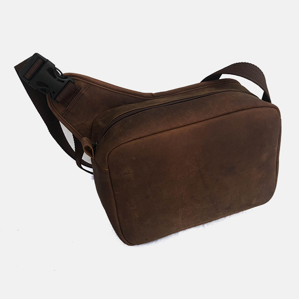 Large Leather Cartridge Bag Capacity 175