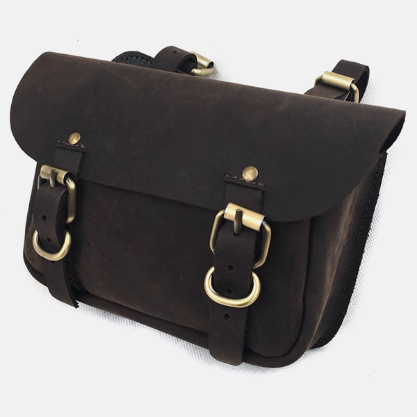 Traditional Leather Horse Riding Saddle Bag