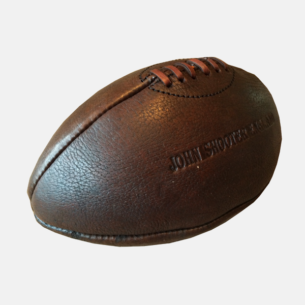 Tradtional Vintage Leather Rugby Ball
