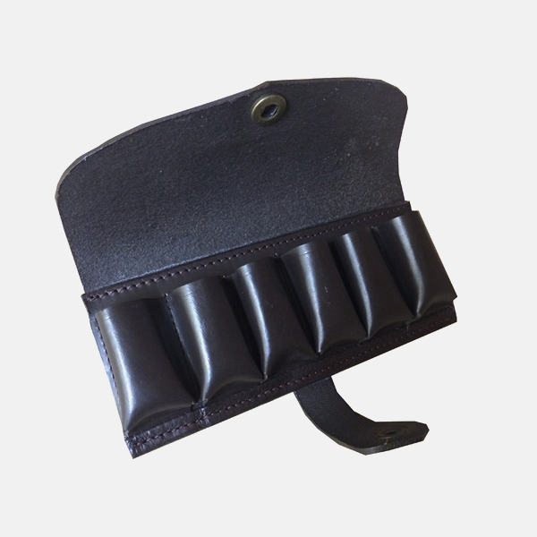 Leather Cartridge Belt Ammo Pouch 12 Bore