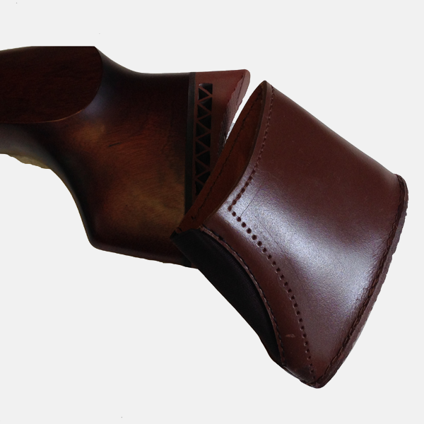 Leather Gun Butt Extension Recoil Pad