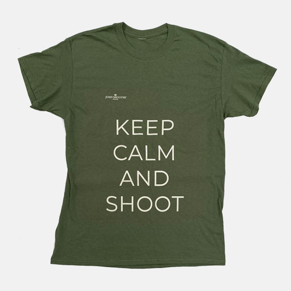 Mens 'Keep Calm And Shoot' T-Shirt