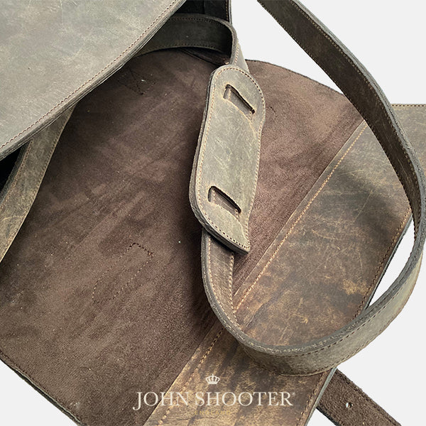 Leather Shotgun Cartridge Magazine Bag