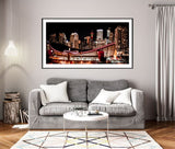 Calgary Awake - Wrapped Canvas