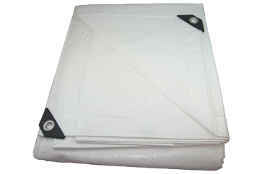 UV-Resistant Heavy Duty Poly Tarp (12' x 16') (Top View)