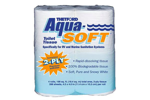 Aqua-Soft 2-ply Toilet Tissue