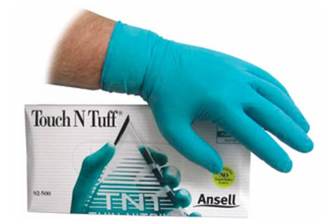 XL Touch N Tuff Nitrile Gloves