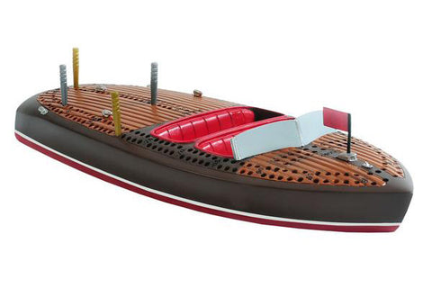 Outside Inside Gifts - Classic Boat Cribbage Board