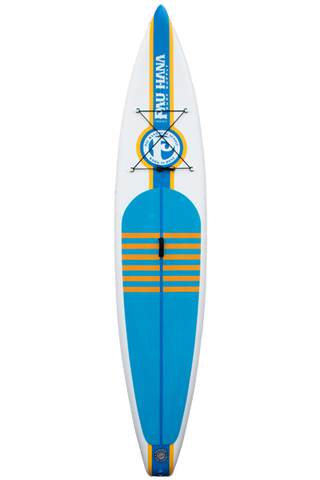 "Pau Hana Surf Supply 12'6"" Cadence Air Inflatable Stand Up Paddle Board (Front View)"