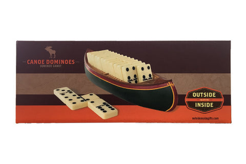 Outside Inside Gifts - Canoe Dominoes