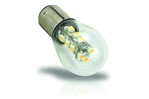 15 LED Double Contact Bayonet BA15D Bulb