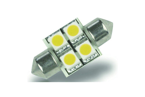 4 LED Festoon Bulb - 31mm