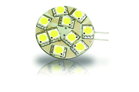 10 LED G-4 Bulb - Side Pin