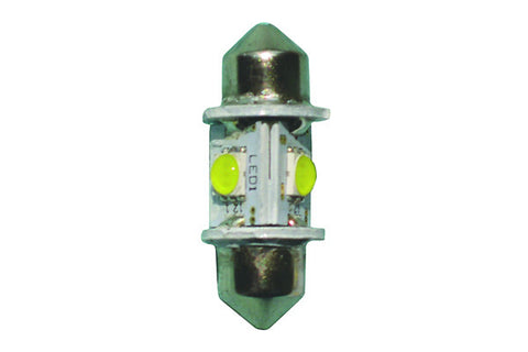"Nav Bulb - LED Festoon Star - 1.22"", 31mm Long, 2 NM"