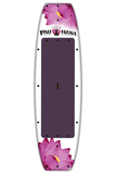 "Pau Hana Surf Supply 10'0"" Lotus Stand Up Paddle Board (in RUBY) (Back View)"