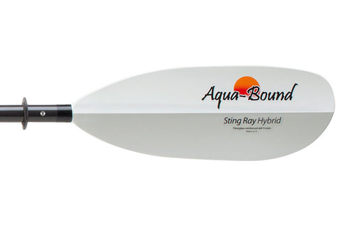 AquaBound Sting Ray Hybrid Kayak Paddle Close