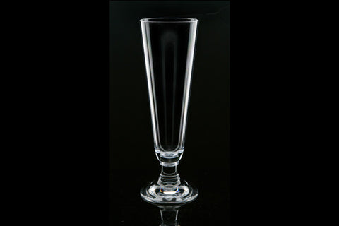 Strahl polycarbonate 14 ounce footed pilsner glass (Color: Clear)