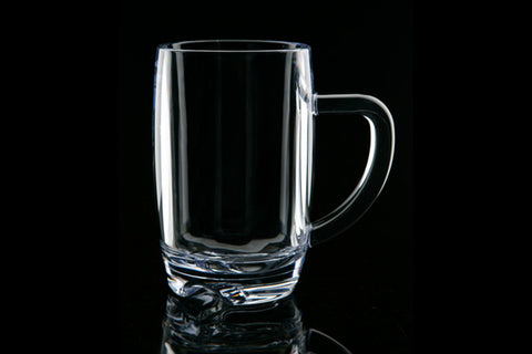 Strahl polycarbonate 15 ounce beer mug (Color: Clear)