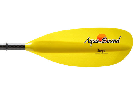 Aqua Bound Surge Carbon Kayak Paddle 220