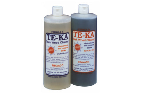 Te-Ka Scrub-Less Teak Cleaner Kits
