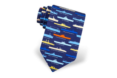 US Aircraft Carriers Tie