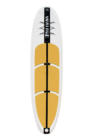 "Pau Hana Surf Supply 11'0"" Big EZ Air Inflatable Stand Up Paddle Board (Front View)"