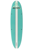 "Pau Hana Surf Supply 11'0"" Big EZ Hawaiian Stand Up Paddle Board (in SEAFOAM GREEN) (Back View)"